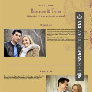 Awesome Wedding Website Welcome Message Check Out More Great