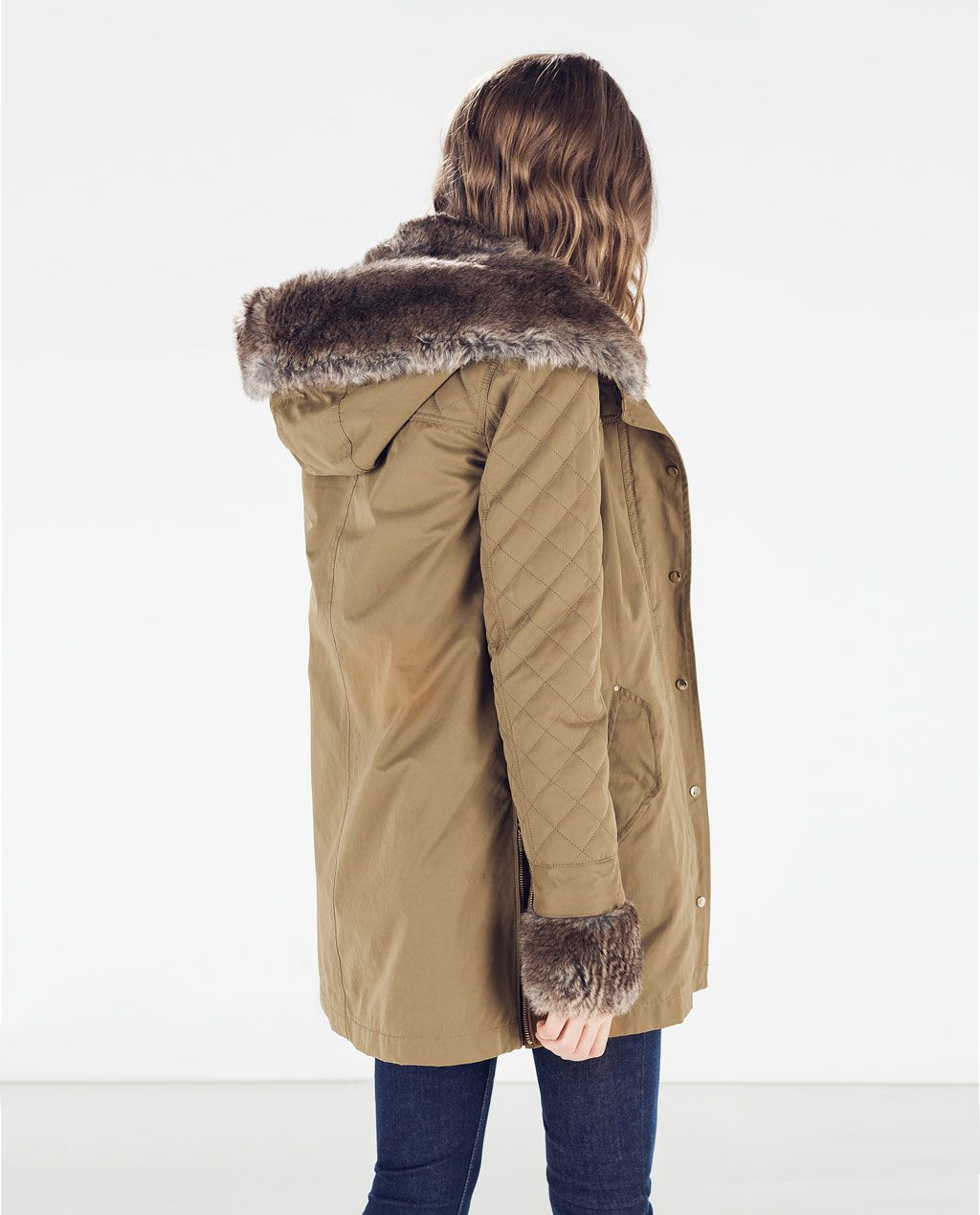 Parka Pinterest Woman With Wish List Hood Chaquetones Zara AYpFq5wn5