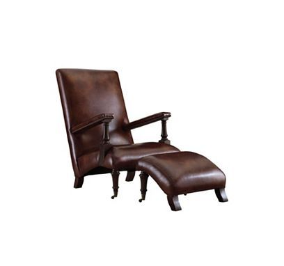 Chair Only No Ottoman Henredon Leather Company