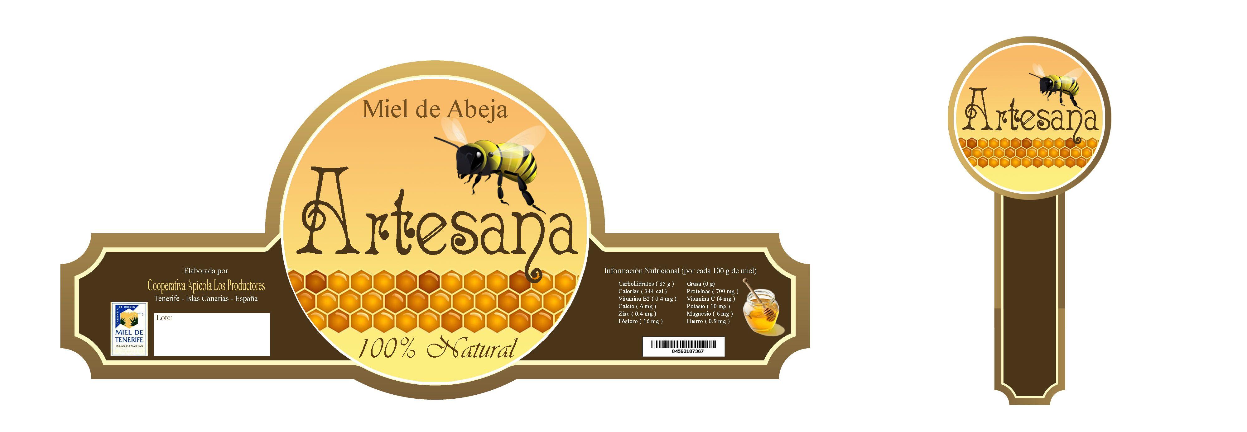 Etiqueta para frasco de miel by Francisco García | Etiquetas ...