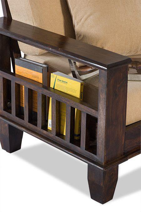 Solid Wood Jodhpur Sofa Set - Saraf Furniture | Wooden Sofa Set, Wooden Sofa, Wood Furniture