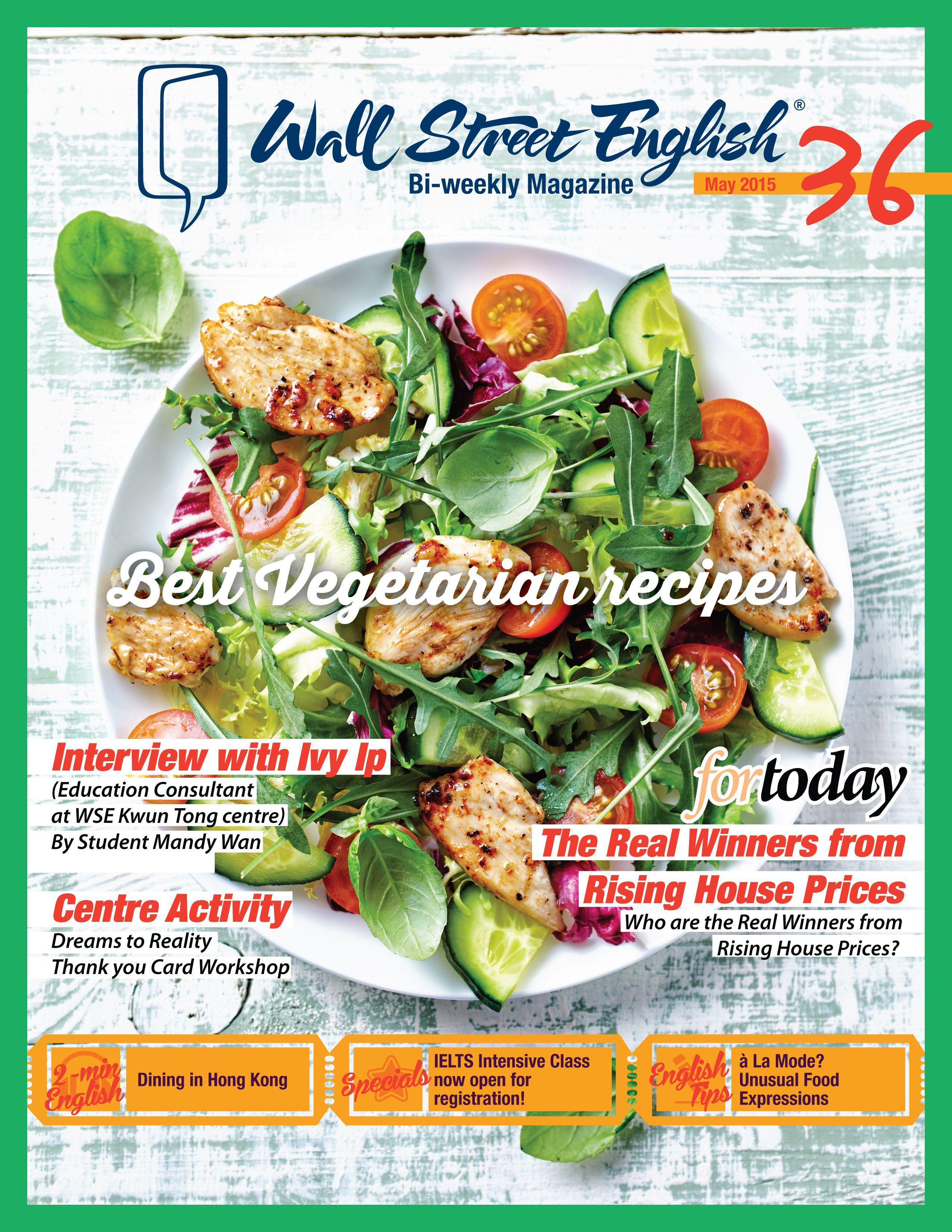 Wall street english bi weekly magazine no36 best vegetarian wall street english bi weekly magazine no36 best vegetarian recipes wsehk forumfinder Gallery