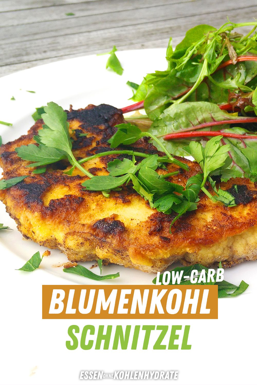 Low-Carb Blumenkohl-Schnitzel