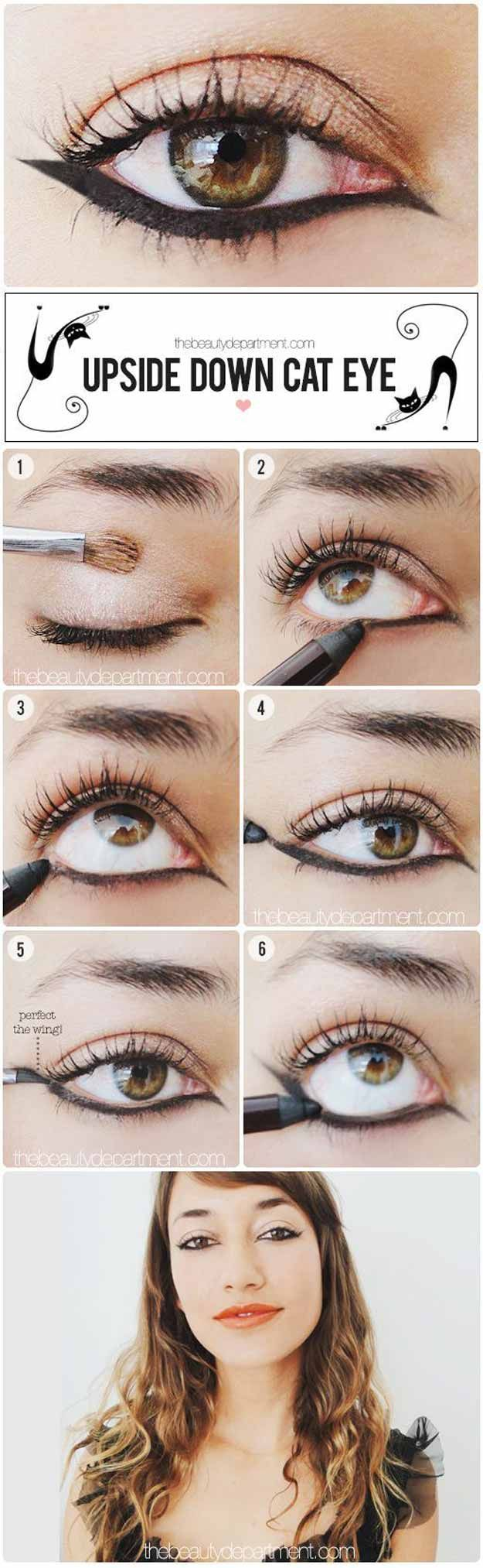 17 great eyeliner hacks from makeup tutorials the best diy projects diy ideas and tutorials sewing paper craft diy diy tips makeup tutorials 2017 2018 the best eyeliner tutorials baditri Images