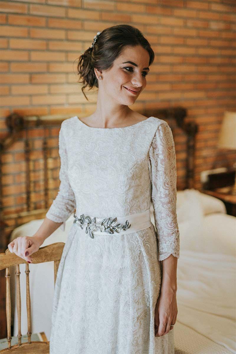 4802ad8b68 Diseñadora de vestidos de novia personalizados a medida