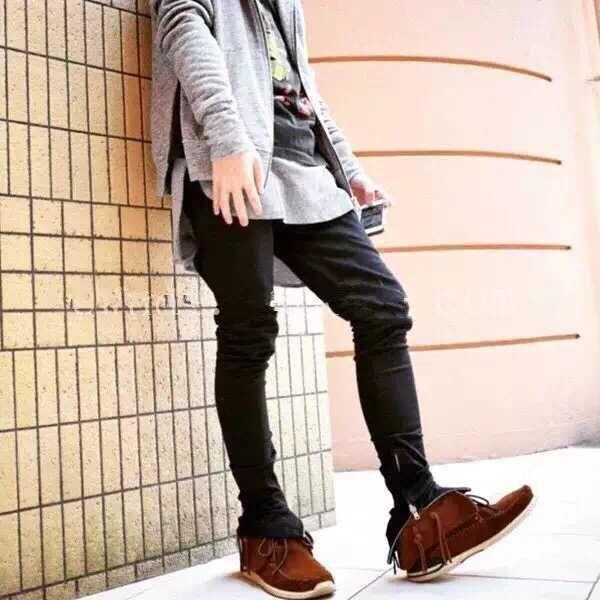 Click To Buy Justin Bieber Jogger Pants Slim Trousers Skateboard Justin Bibber Clot Mens Streetwear Mens Fashion Summer Outfits Mens Fashion Casual Urban