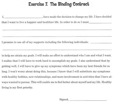 Printables Thought Stopping Worksheets 1000 images about recovery inspiration from anorexia on pinterest