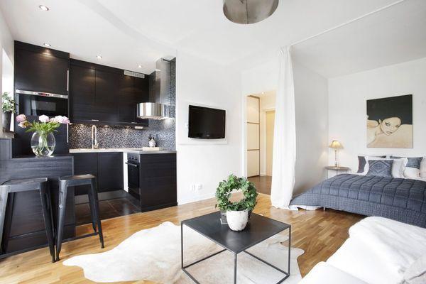 59b7f35fcdc2add5d5f58758f13527e0jpg 600×400 pixels Small homes - departamento de soltero moderno pequeo