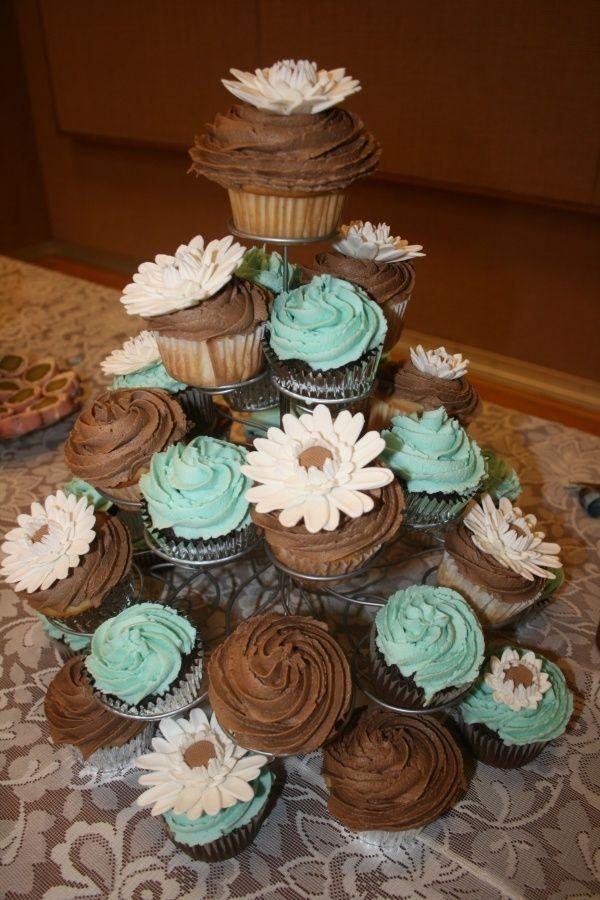 Tiffany Blue Wedding Decorations Tiffany Blue Brown Themed