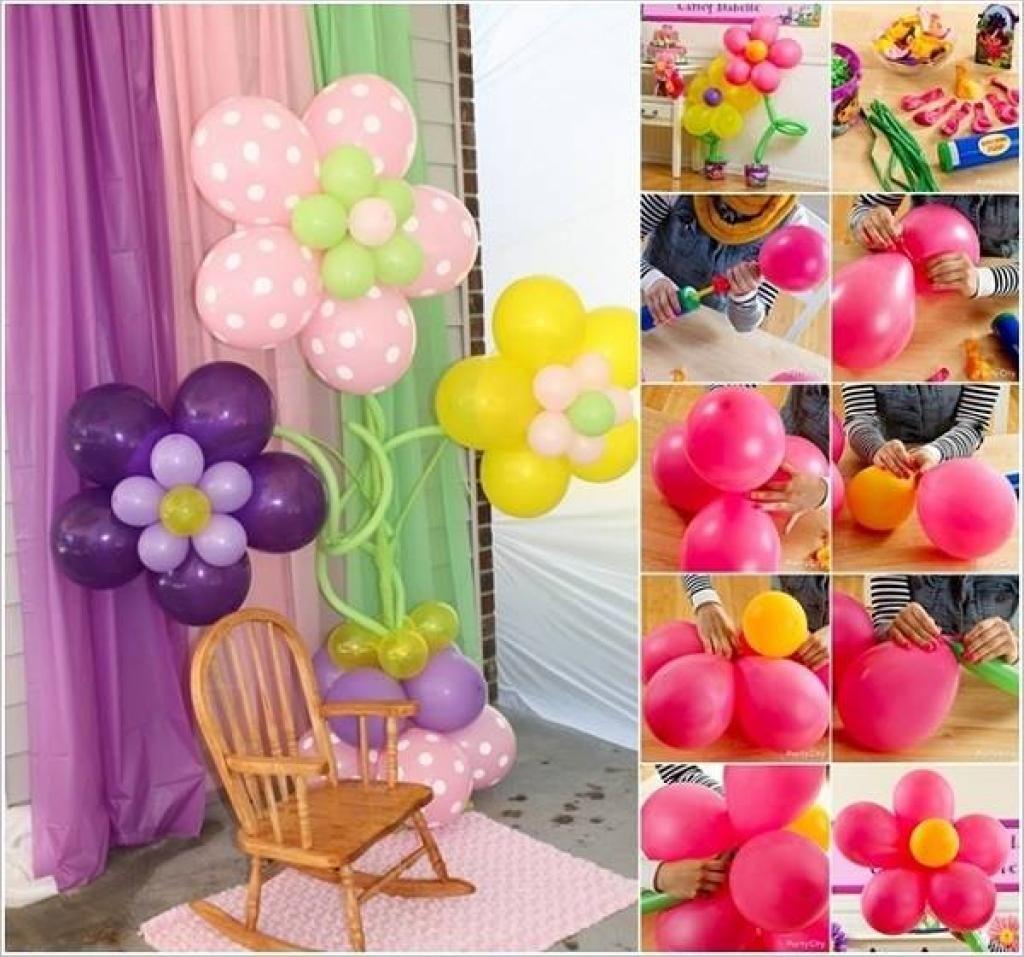 3 tutoriels photo pour des décorations de ballons! | bricolage