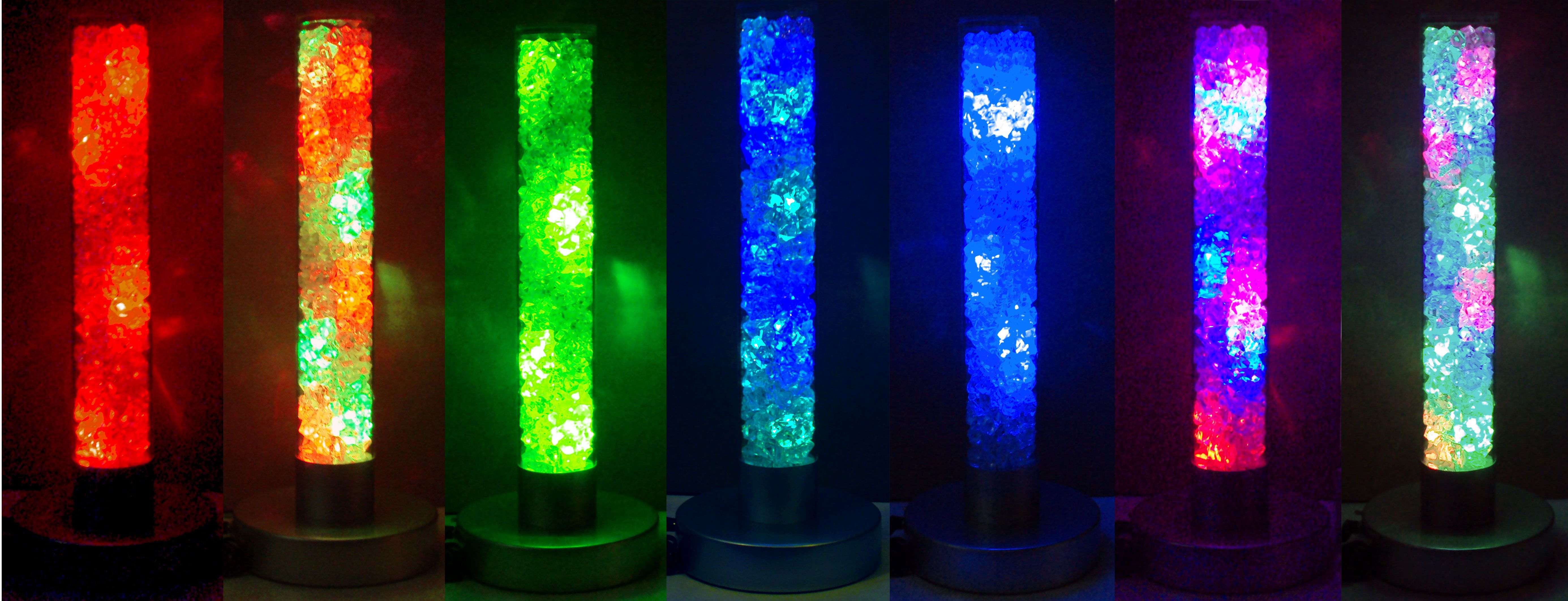 Color Changing And White Light Radiance Lamp The Colors The Led
