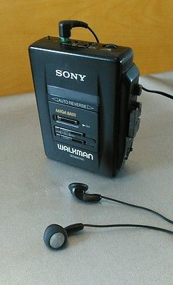 Sony Walkman WM-2055 cassette player with original Sony