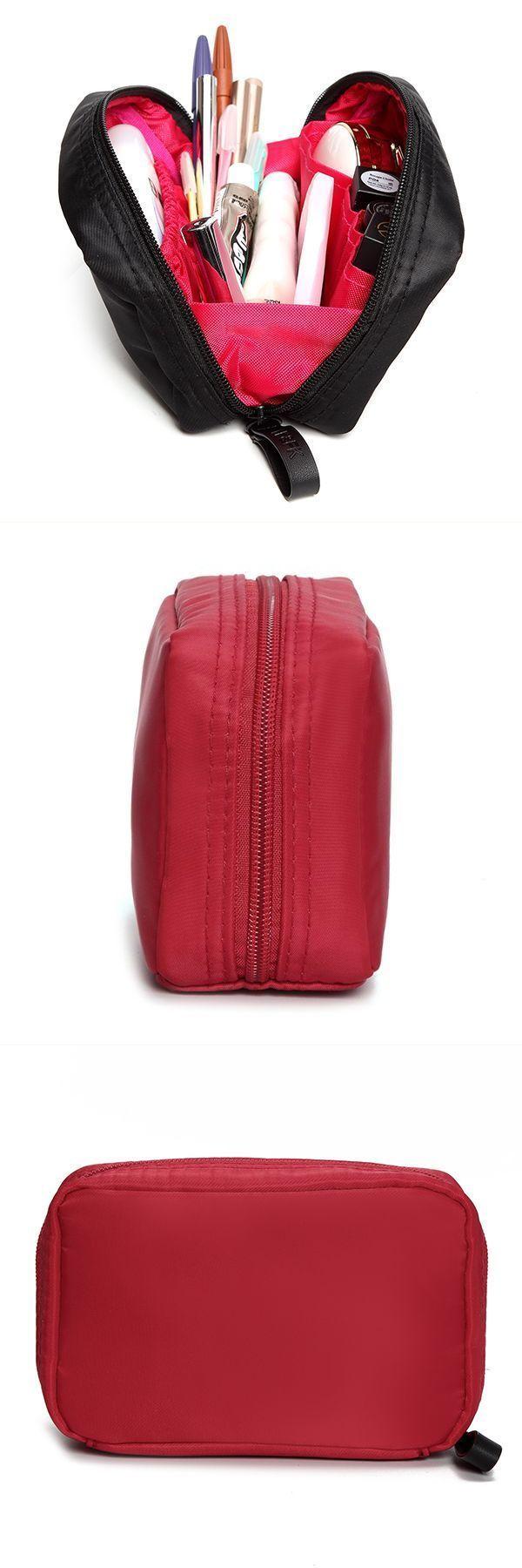 Women Nylon Cosmetic Bag Outdoor Portable Little Travel Storage J Crew Clutch Bags