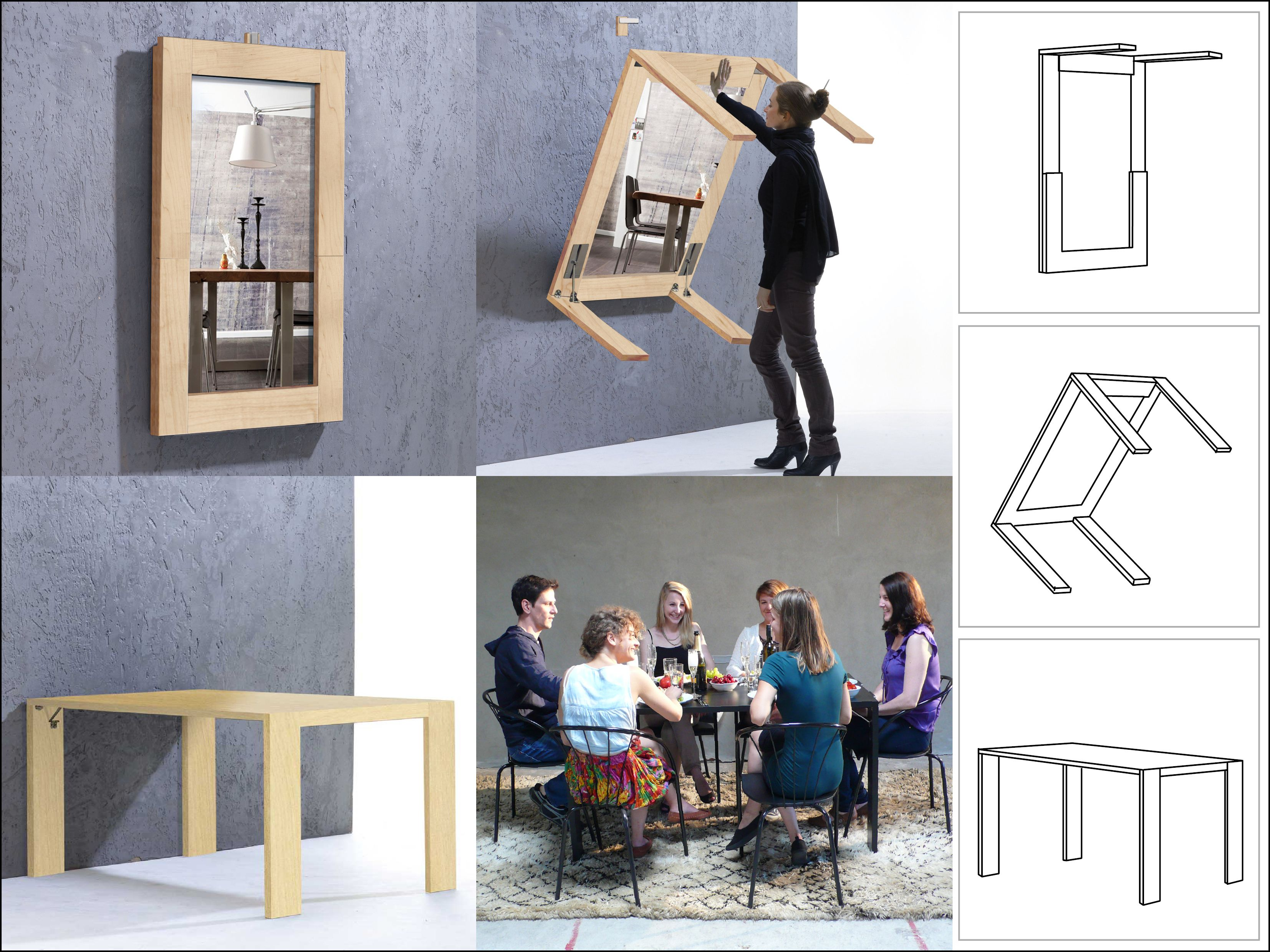 ivydesign klapptisch wird bilderrahmen my creative room pinterest klapptisch. Black Bedroom Furniture Sets. Home Design Ideas