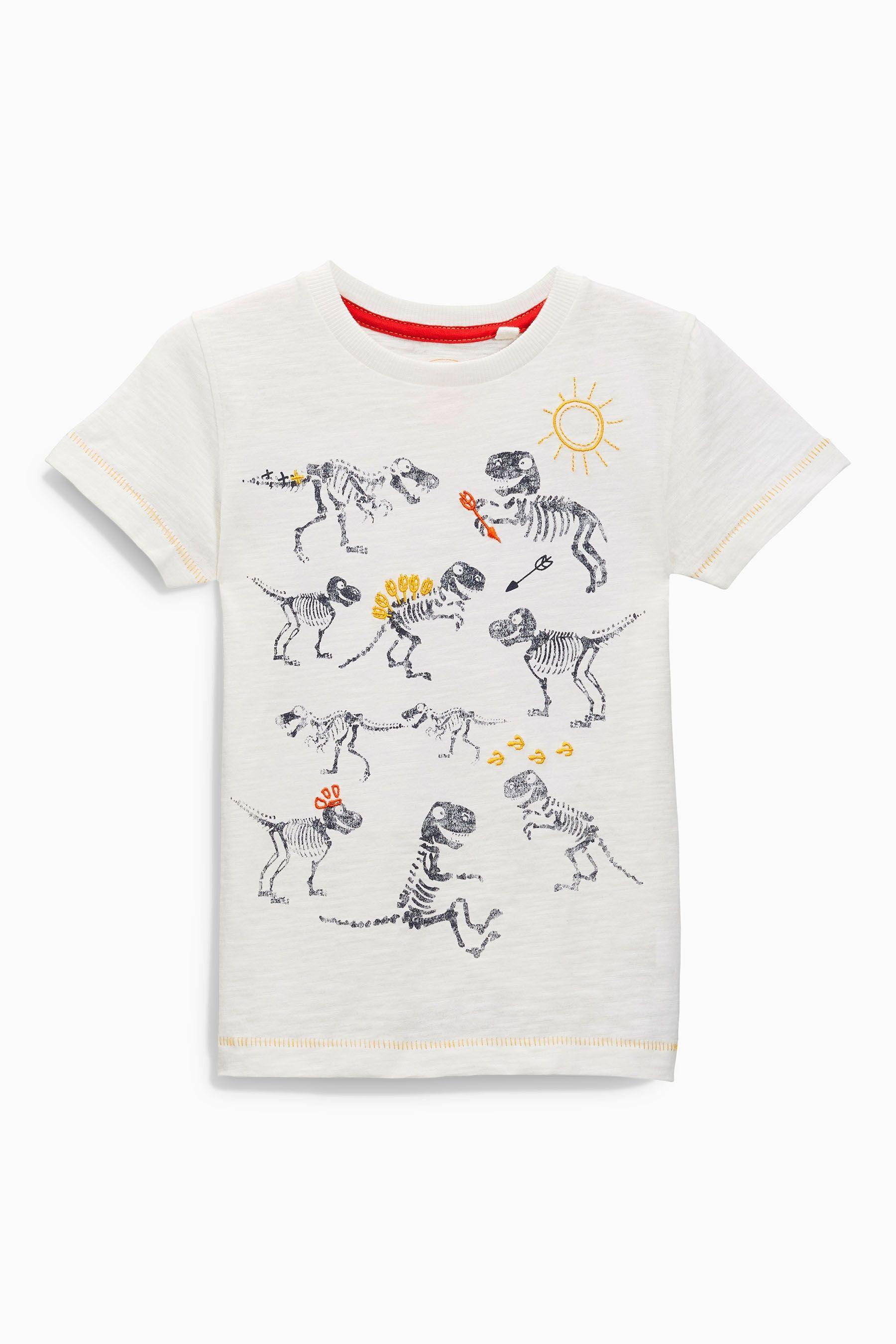 4d4812991 Comprar Camiseta cruda con estampado de dinosaurio (3 meses-6 años) online  hoy en Next: España