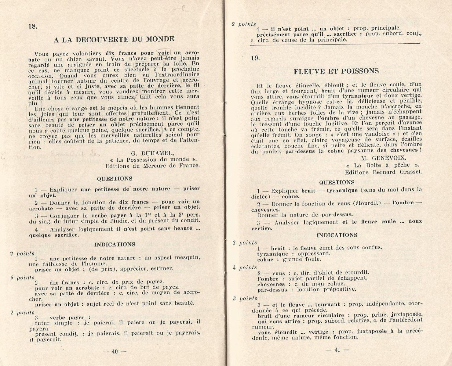 Jean Maitron, 60 dictées suivies de questions | enfants