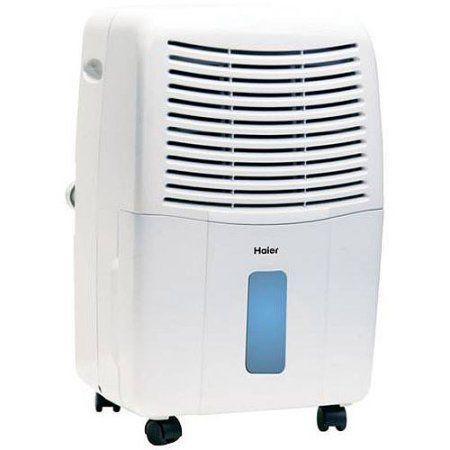 Walmart Frigidaire 50-Pint Dehumidifier haier 65-pint dehumidifier for basements w/drain, white, de65em-l