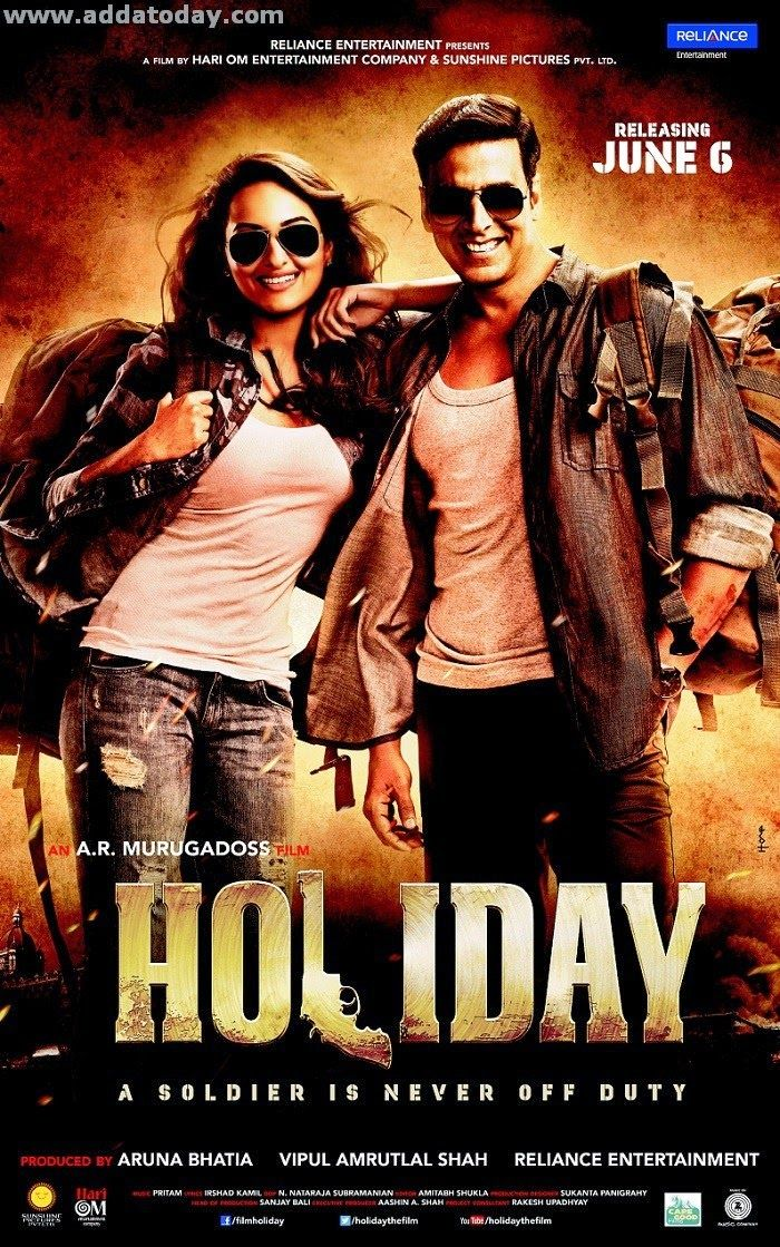 Holiday Hindi Movie: A. Murugadoss Director of the movie Holiday Hindi Movie  with Cast Akshay Kumar, Sonakshi Sinha, Govinda.