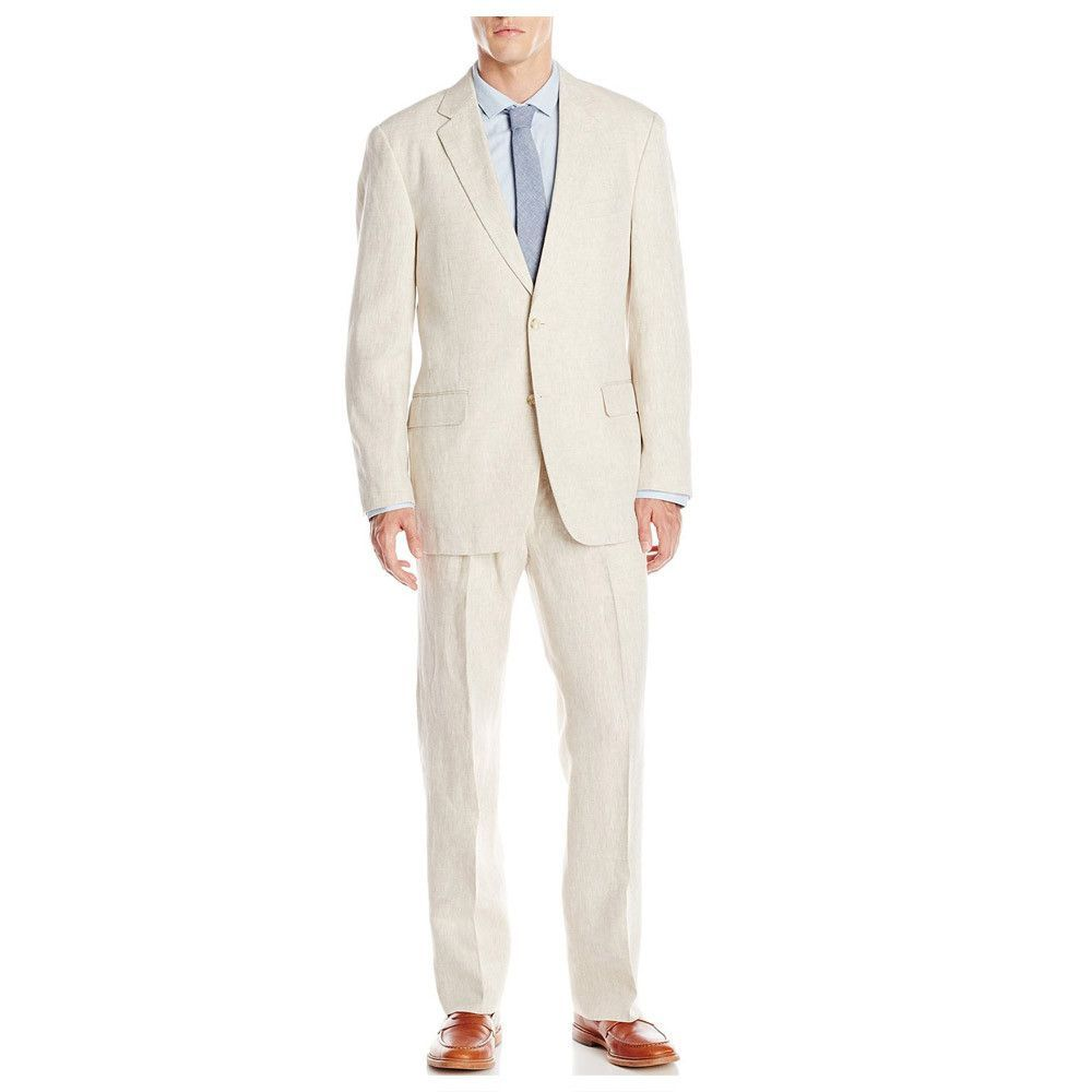 Brother S On The Boulevard Off White Linen Suit Dream