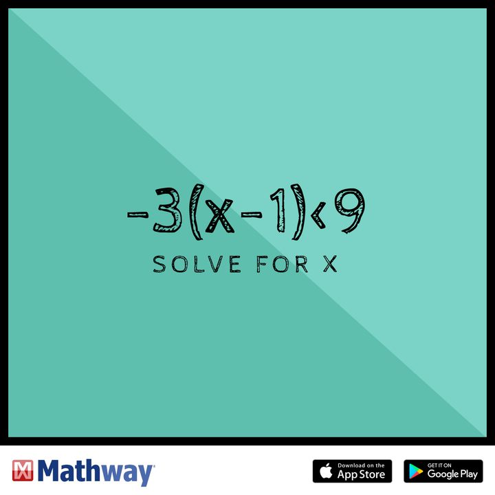 Try this math problem and solve for x. | Math Problems and ... Mathway Arabic on
