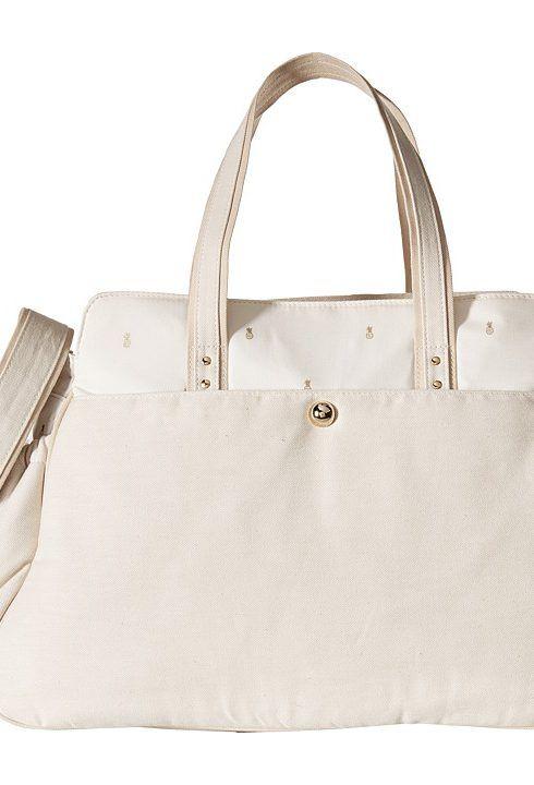 Chloe Kids Embroidered Changing Bag (Off-White) Handbags - Chloe ...