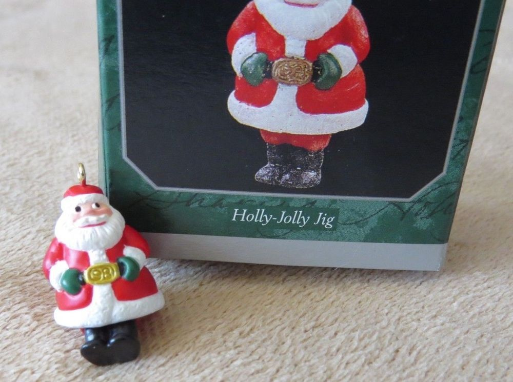 Holly Jolly Jig 1998 Miniature Santa