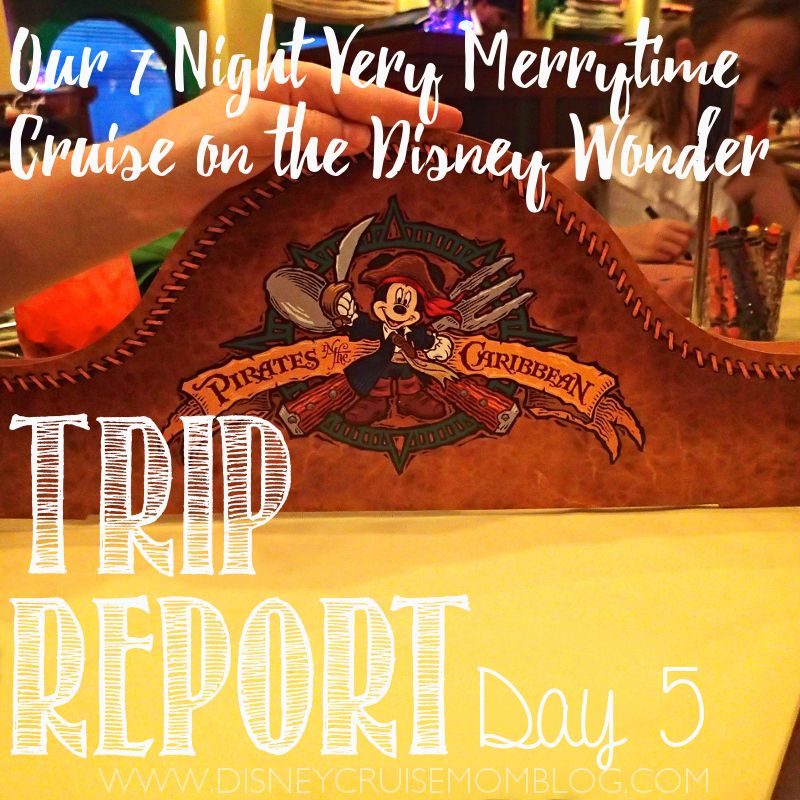Day 5 of the trip report from our 7 Night Very Merrytime Cruise on - trip report
