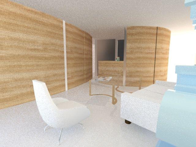 Dise o de cl nica dental realizado con 3d studio en 2 a o - Estudios de diseno de interiores ...