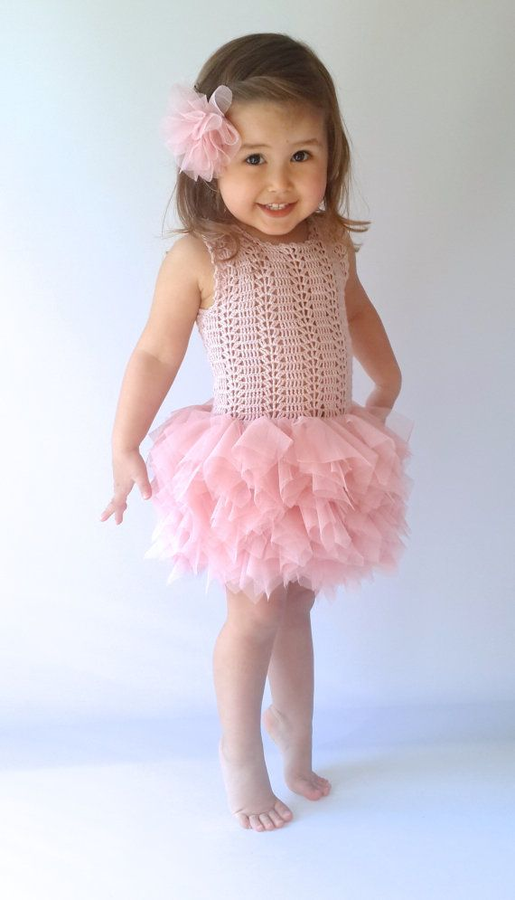 This Item Is Unavailable Etsy Vestido Tejido Con Tul Vestido De Niña Tejido A Ganchillo Vestidos Para Bebés