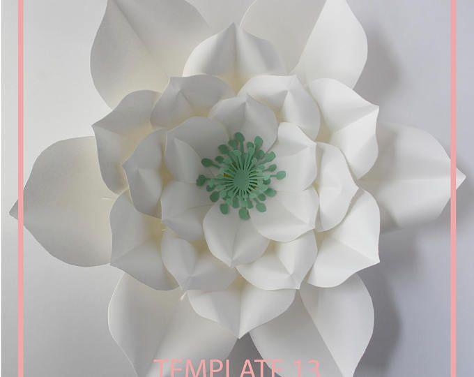 Pdf paper flower template digital version original design by pdf paper flower template digital version original design by mightylinksfo