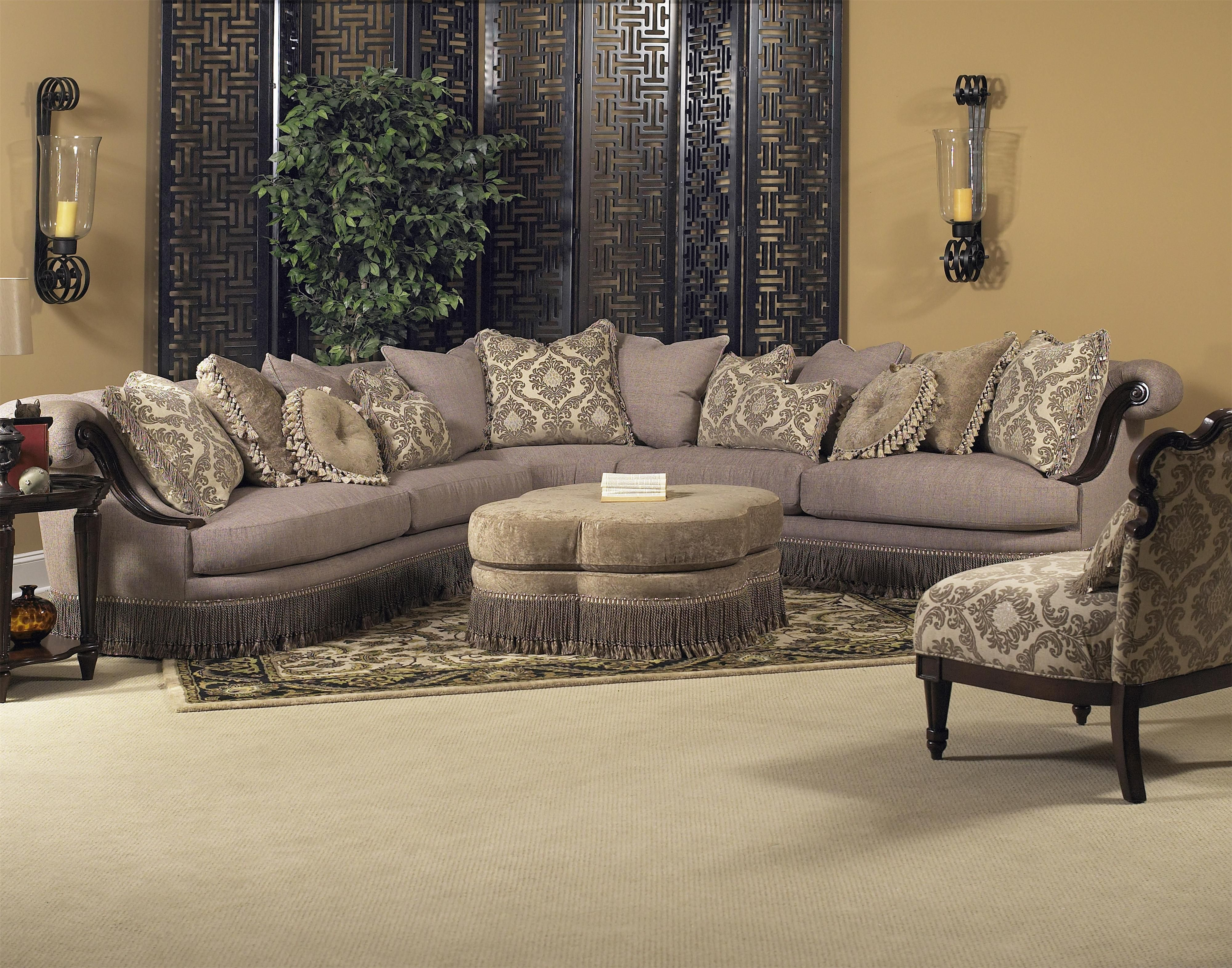 Royal Living Room Furniture. Classic Wellingsley Sectional by Fairmont Designs available at Royal  Furniture