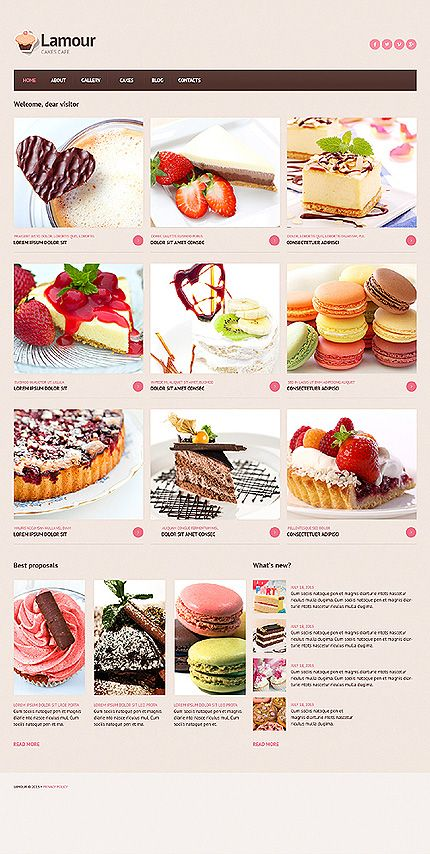 Design needs time - Get Template Espresso!  Joomla #template // Regular price: $75 // Unique price: $4500 // Sources available: .PSD, .PHP #Joomla #Responsive #Cafe #Restaurant #Cakes #Donuts