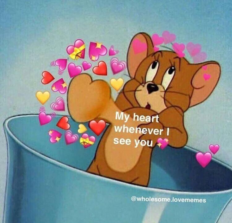 Mintrapitouwu Cute Love Memes
