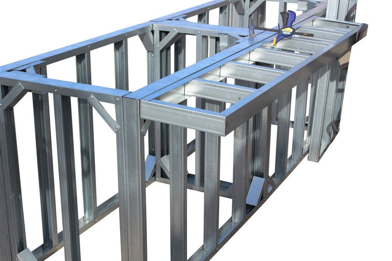 Diy Bbq 12 Quick Panel 5ft Overhang Kit Diy Outdoor Bar Diy Bbq Outdoor Kitchen