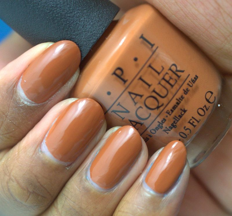 Brown polish on brown skin? What do you think? This is OPI ...
