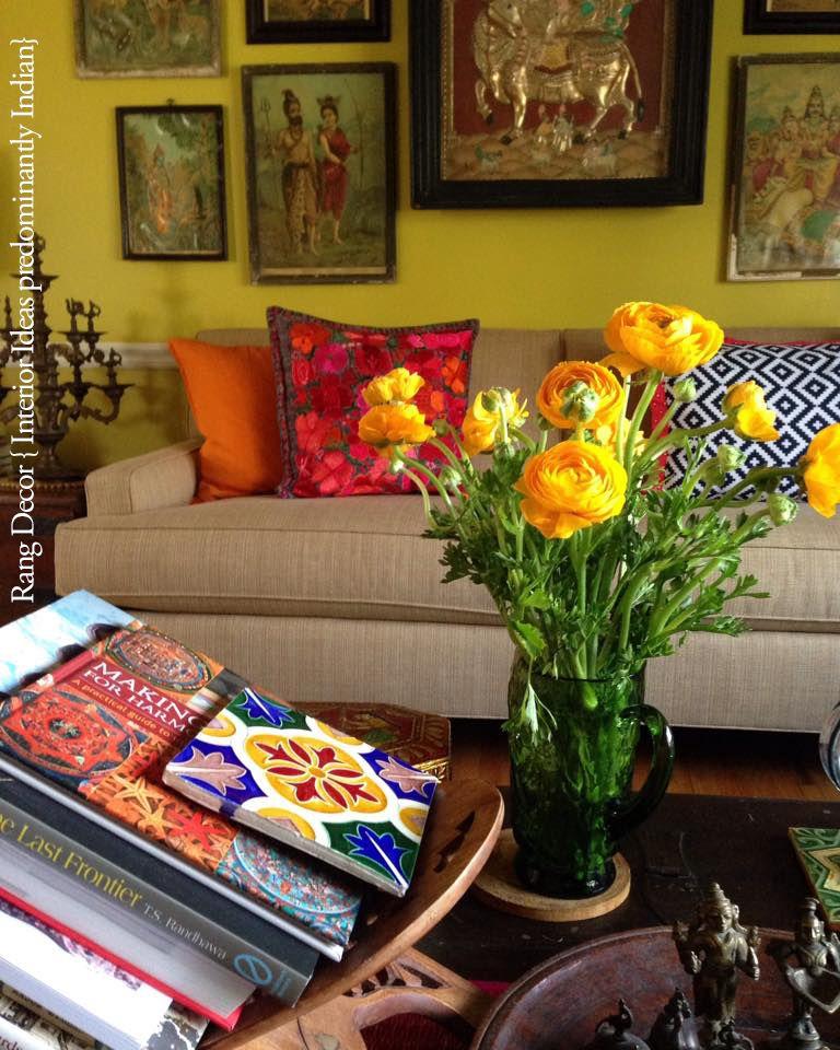 Our living room Rang Decor  Decor, Home decor, Indian home decor