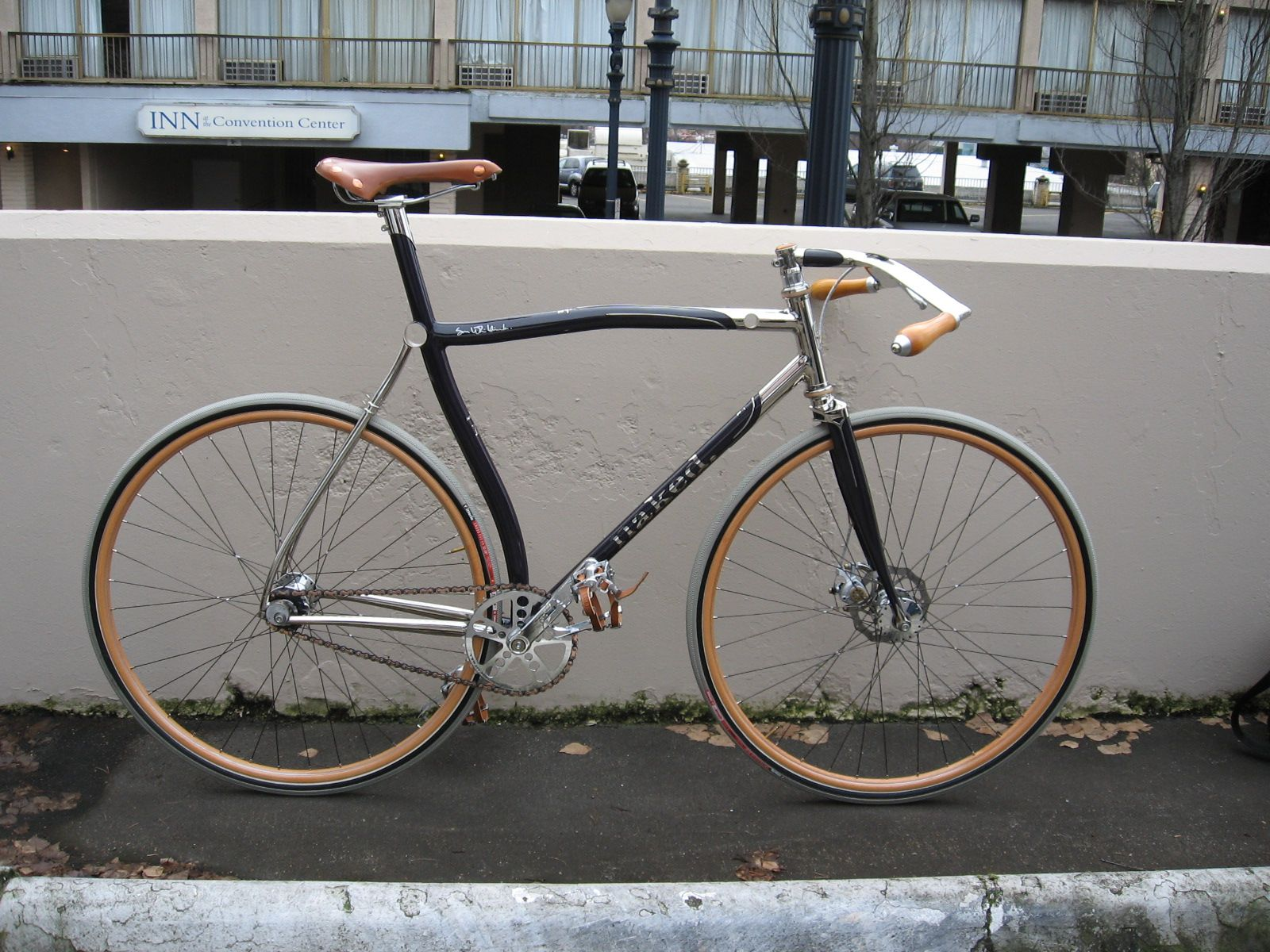 Naked Bicycles Baba Ganoush