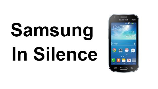 Samsung In Silence - A Mystery Video
