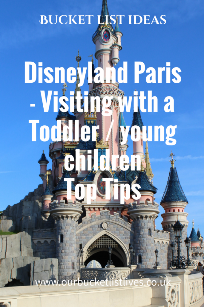 Disneyland Paris. Visiting with a toddler / younger children. Top tips for visiting. Paris, France. Family travel. Disney.
