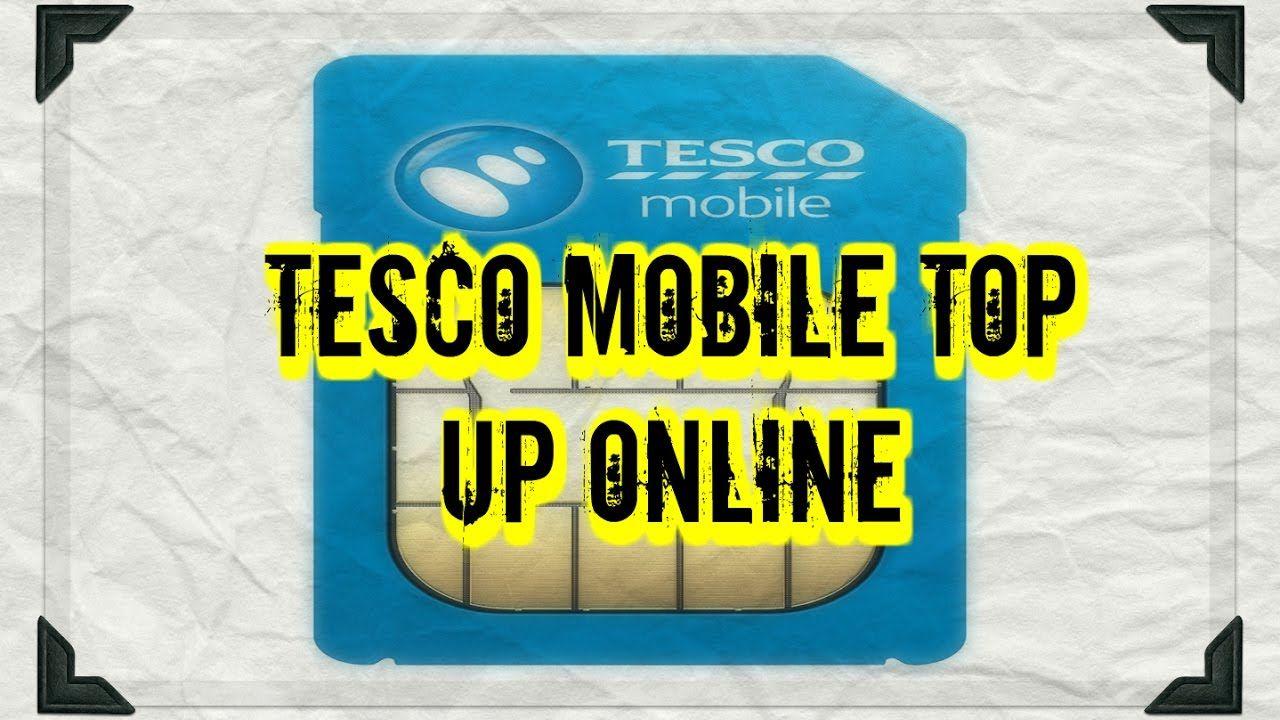 Buy Tesco Mobile Top up Online - Voucher Code Delivered in