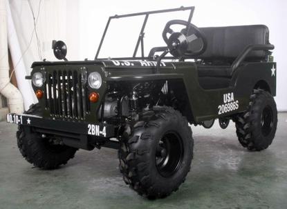 Willys Off-Road Series 1 Basic Mini Jeep - New 2018-19 Model- CALIF