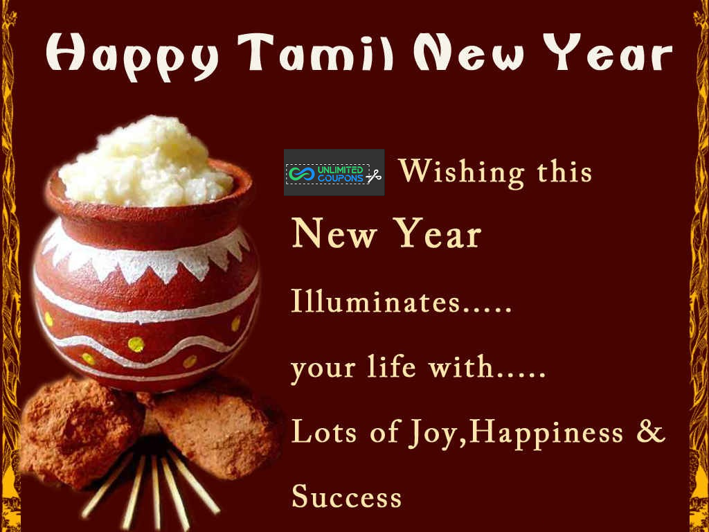 Unlimited Coupons Wishes You A Happy Tamil New Year Quotes About New Year Happy New Year Quotes Holiday Meme