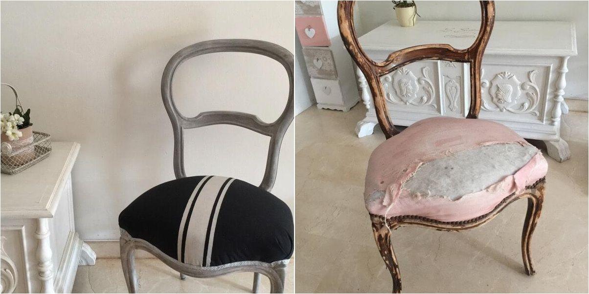 Restaurando y renovando una silla isabelina sillas for Sillas clasicas tapizadas