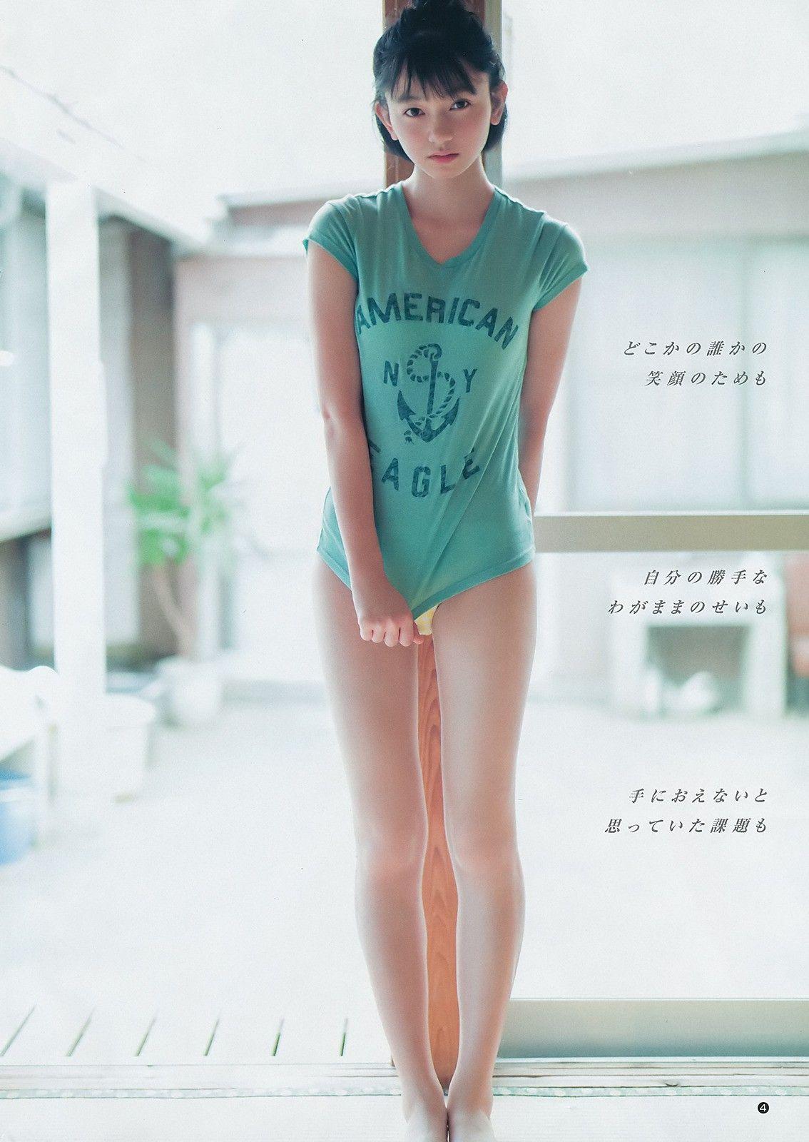熊澤風花さんの水着
