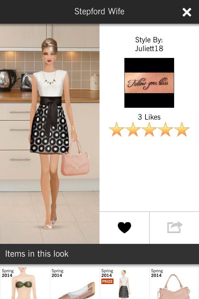Pin By Rachel Sharp On Covet Fashion Game Covet Fashion Games Stepford Wife Clothes Design