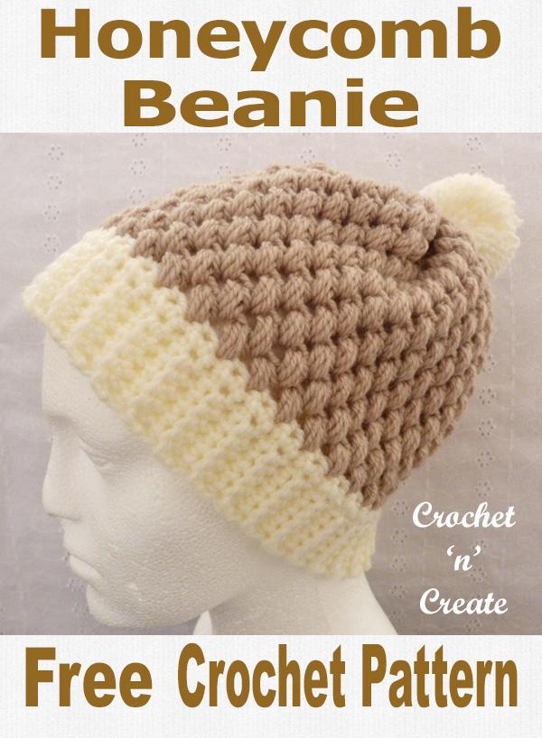 Beanie UK Free Crochet Pattern Crochet