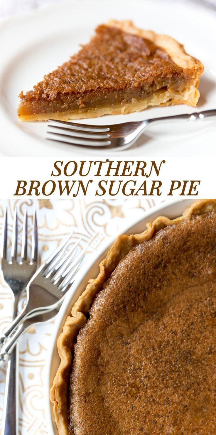 Photo of Southern Brown Sugar Pie Recipe, Must Try Dessert