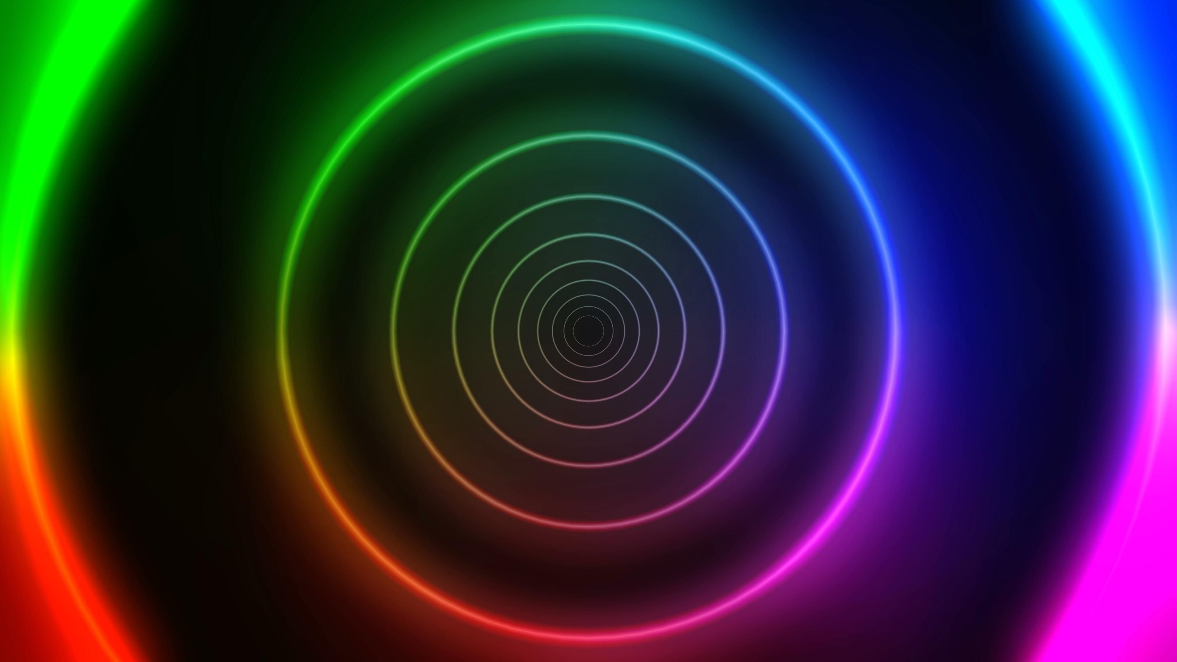 Free Motion Graphic Background Neon Rainbow Circles Tunnel Vj Loop Virtual Video Iphone Background Images Love Wallpaper Backgrounds Background Images Wallpapers
