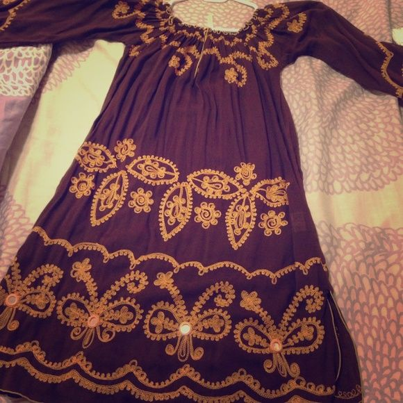Dress💕 Poupette🎀dress. 100% Viscose, made in Indonesia💕 One stain. poupette Dresses