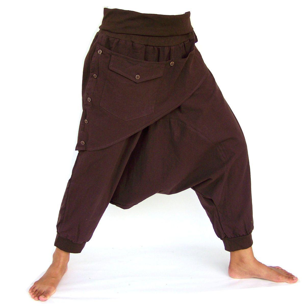 handmade Boho Hippie Pants Harem pants men women 100/% cotton